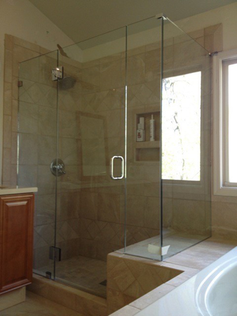 Glass Shower Door Corner 90 - Alluring Glass