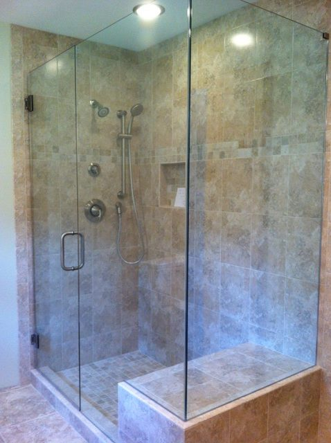 Glass Shower Door Corner 90