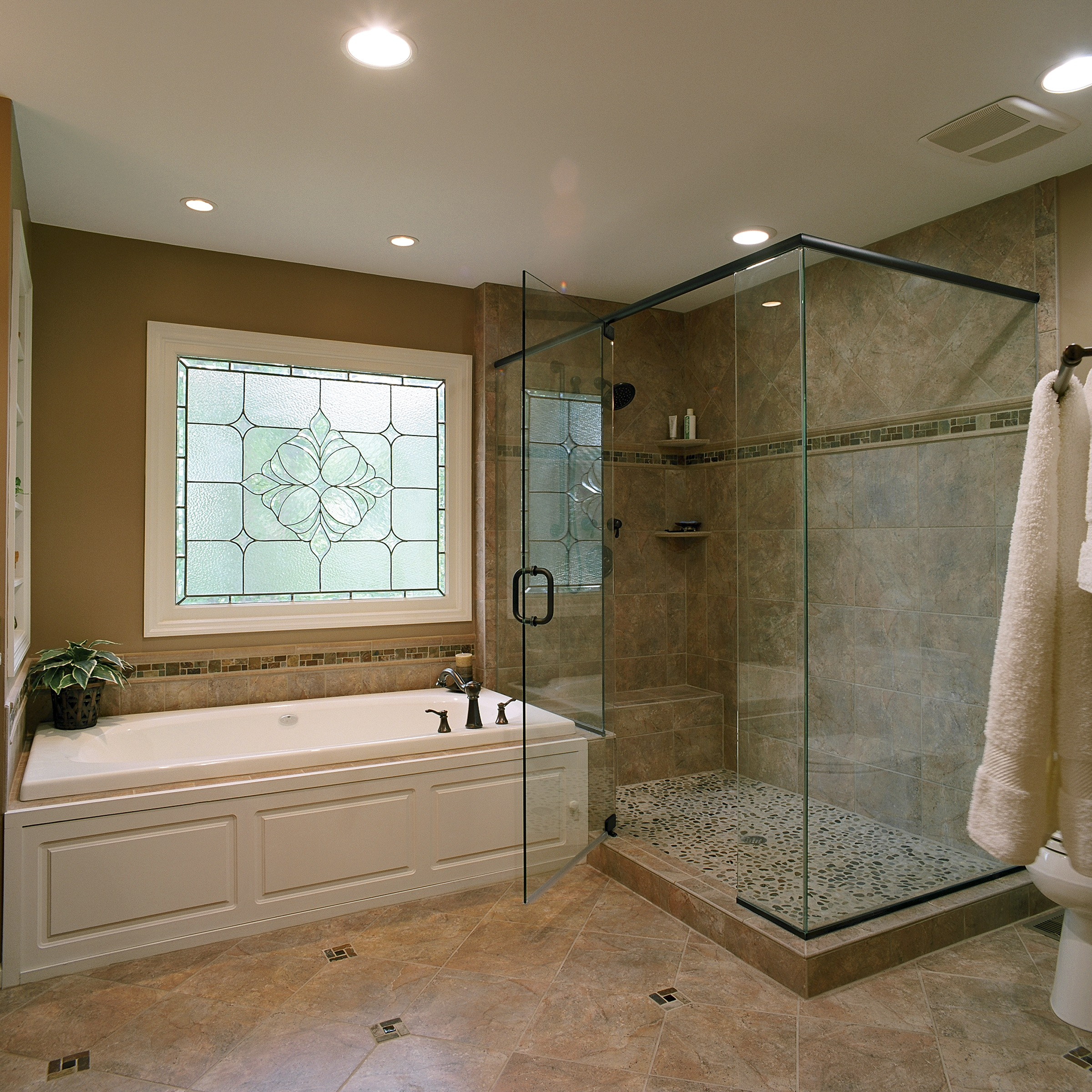 Glass Shower Door - Corner 90°