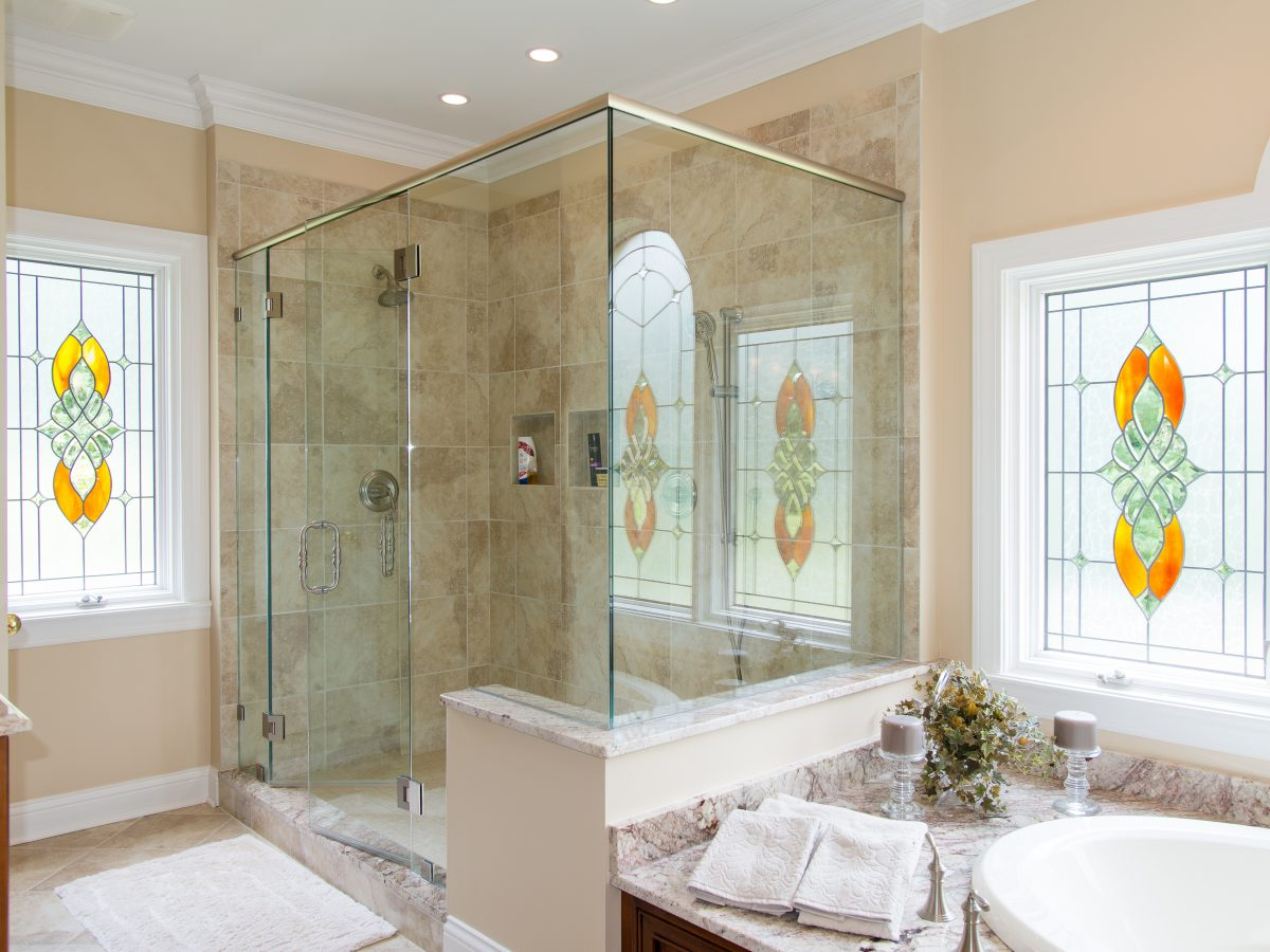 Glass Shower Door Corner 90°